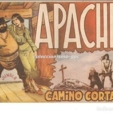 Tebeos: APACHE Nº 9 TEBEO ORIGINAL 1958 CAMINO CORTADO EDITORIAL MAGA OFERTA !! MIRA !!. Lote 163340842