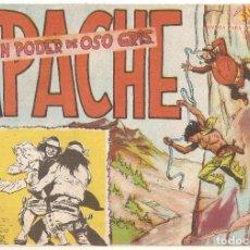 Tebeos: APACHE Nº 3 TEBEO ORIGINAL 1958 EN PODER DE OSO GRIS EDITORIAL MAGA MUY BUEN ESTADO MIRA !!. Lote 163342202
