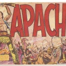Tebeos: APACHE Nº 1 !! TEBEO ORIGINAL 1958 APACHE SERIE JUNGLA EDITORIAL MAGA MUY BUEN ESTADO OFERTA MIRA !!. Lote 163346326