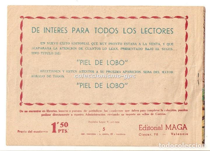 Tebeos: BENGALA nº 5 TEBEO ORIGINAL 1959 BAJO LA TORMENTA Serie MARCOS Editorial MAGA OFERTA !! MIRA !! - Foto 2 - 163360842