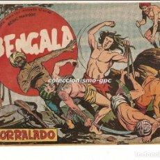 Tebeos: BENGALA Nº 3 TEBEO ORIGINAL 1959 ACORRALADO SERIE MARCOS EDITORIAL MAGA OFERTA !! MIRA !!. Lote 163385494