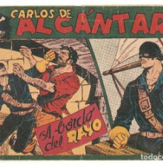 Tebeos: CARLOS DE ALCANTARA Nº 4 TEBEO ORIGINAL 1955 A BORDO DEL RAYO EDITORIAL MAGA BUEN ESTADO MIRA !! !!. Lote 163409666