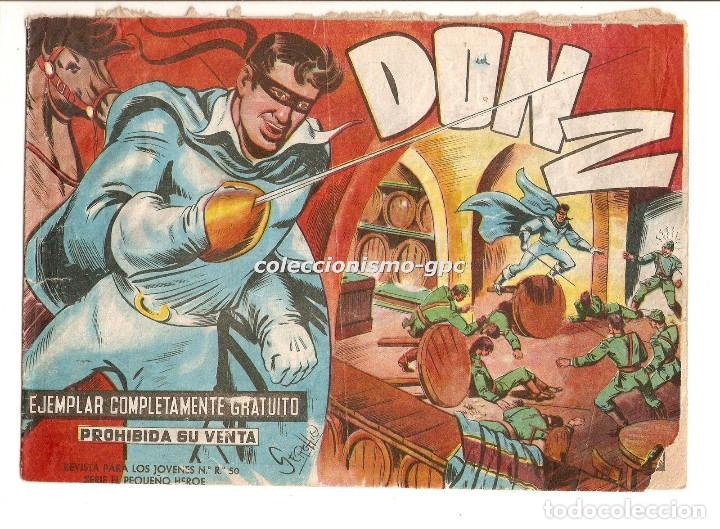 DON Z Nº 1 !! TEBEO ORIGINAL 1959 CUANDO CALIFORNIA ERA ESTADO DE MEJICO 1820 EDITORIAL MAGA OFERTA (Tebeos y Comics - Maga - Don Z)