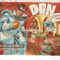 Tebeos: DON Z Nº 1 !! TEBEO ORIGINAL 1959 CUANDO CALIFORNIA ERA ESTADO DE MEJICO 1820 EDITORIAL MAGA OFERTA. Lote 163745538