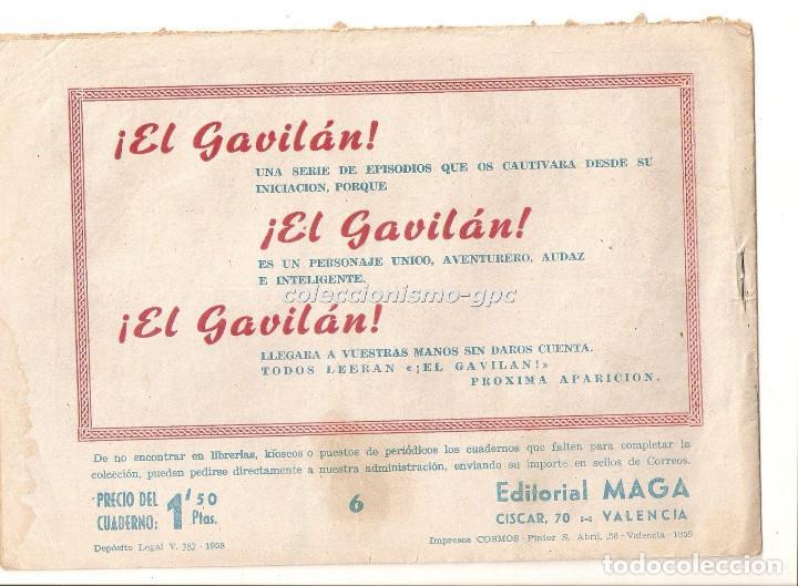 Tebeos: DON Z nº 6 TEBEO ORIGINAL 1959 LA AUDACIA DE DON DIEGO Editorial MAGA Serchio Buen Estado Oferta !! - Foto 2 - 163746178