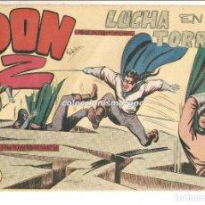 Tebeos: DON Z Nº 10 TEBEO ORIGINAL 1959 LUCHA EN EL TORREON EDITORIAL MAGA SERCHIO BUEN ESTADO OFERTA !. Lote 163749314