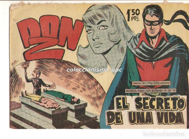 DON Z Nº 11 TEBEO ORIGINAL 1959 EL SECRETO DE UNA VIDA EDITORIAL MAGA SERCHIO BUEN ESTADO OFERTA ! (Tebeos y Comics - Maga - Don Z)