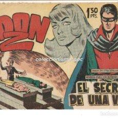Tebeos: DON Z Nº 11 TEBEO ORIGINAL 1959 EL SECRETO DE UNA VIDA EDITORIAL MAGA SERCHIO BUEN ESTADO OFERTA !. Lote 163761222