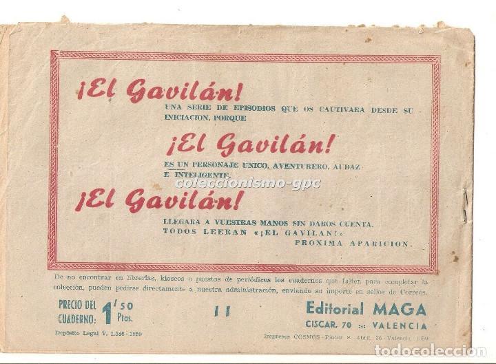 Tebeos: DON Z nº 11 TEBEO ORIGINAL 1959 EL SECRETO DE UNA VIDA Editorial MAGA Serchio Buen Estado Oferta ! - Foto 2 - 163761222
