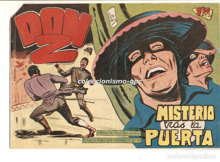 DON Z Nº 35 TEBEO ORIGINAL 1959 MISTERIO TRAS LA PUERTA EDITORIAL MAGA SERCHIO BUEN ESTADO OFERTA ! (Tebeos y Comics - Maga - Don Z)