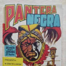 Tebeos: PANTERA NEGRA - REVISTA Nº 2 - ED. MAGA. Lote 164482078