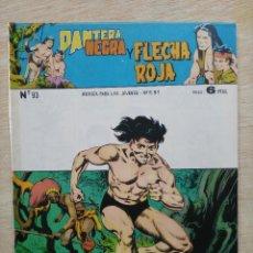 Tebeos: PANTERA NEGRA Y FLECHA ROJA - REVISTA Nº 93 - ED. MAGA. Lote 164502558