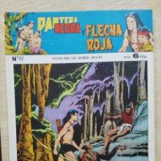 Tebeos: PANTERA NEGRA Y FLECHA ROJA - REVISTA Nº 87 - ED. MAGA. Lote 164503950