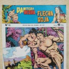 Tebeos: PANTERA NEGRA Y FLECHA ROJA - REVISTA Nº 86 - ED. MAGA. Lote 164504666