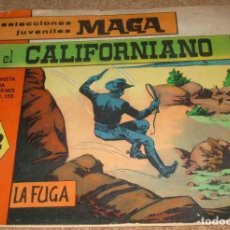 Tebeos: EL CALIFORNIANO Nº 7 ORIGINAL MAGA - LEER. Lote 164755882