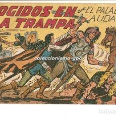 Tebeos: EL PALADIN AUDAZ Nº 16 TEBEO ORIGINAL 1957 COGIDOS EN LA TRAMPA EDIT. MAGA VER DESCRIPCIÓN OFERTA !. Lote 165075302