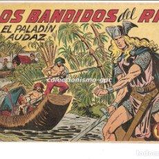 Tebeos: EL PALADIN AUDAZ Nº 18 TEBEO ORIGINAL 1957 LOS BANDIDOS DEL RIO EDIT. MAGA VER DESCRIPCIÓN OFERTA !. Lote 165076158