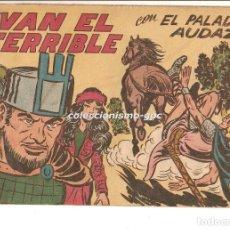 Tebeos: EL PALADIN AUDAZ Nº 23 TEBEO ORIGINAL 1957 IVAN EL TERRIBLE EDITORIAL MAGA VER DESCRIPCIÓN OFERTA !. Lote 165076990