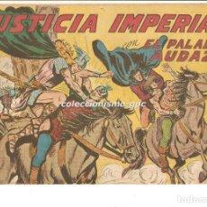 Tebeos: EL PALADIN AUDAZ Nº 24 TEBEO ORIGINAL 1957 JUSTICIA IMPERIAL EDITORIAL MAGA VER DESCRIPCIÓN OFERTA !. Lote 165077986