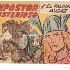 Tebeos: EL PALADIN AUDAZ Nº 28 TEBEO ORIGINAL 1957 IMPOSTOR MISTERIOSO EDITORIAL MAGA VER DESCRIPCIÓN OFERTA. Lote 165099798