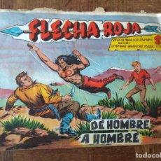 Tebeos: FLECHA ROJA, DE HOMBRE A HOMBRE Nº 72 - EDITORIAL MAGA ORIGINAL -. Lote 200328331