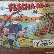 Tebeos: FLECHA ROJA, EL CORONEL CHARLEY Nº 34 - EDITORIAL MAGA ORIGINAL -. Lote 200328300