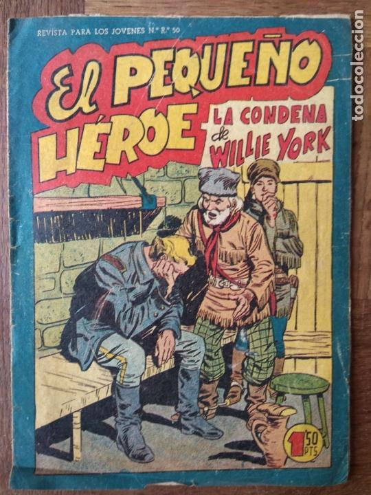 EL PEQUEÑO HEROE, LA CONDENA DE WILLIE YORK Nº 85 - EDITORIAL MAGA ORIGINAL - (Tebeos y Comics - Maga - Pequeño Héroe)