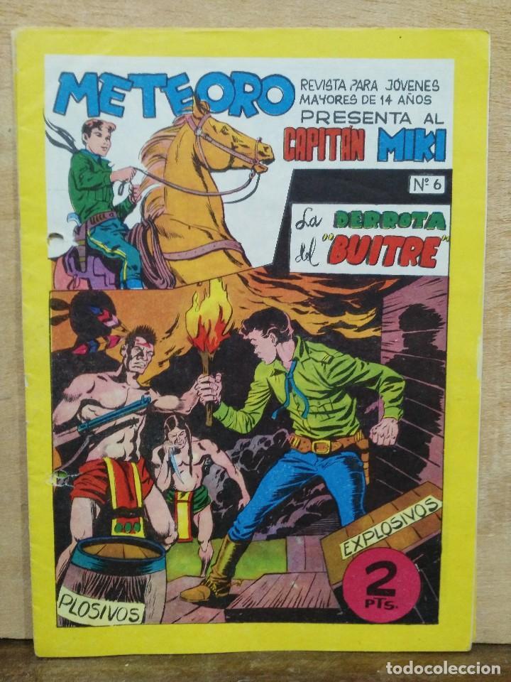 METEORO PRESENTA AL CAPITÁN MIKI - Nº 6 - ED. MAGA (Tebeos y Comics - Maga - Otros)