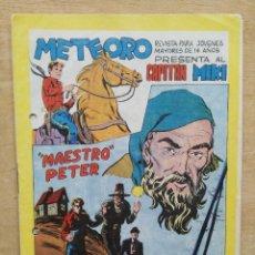 Tebeos: METEORO PRESENTA AL CAPITÁN MIKI - Nº 20 - ED. MAGA. Lote 165452686