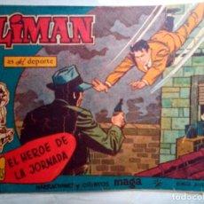 Giornalini: OLIMÁN-AS DEL DEPORTE- Nº 82 -EL HÉROE DE LA JORNADA-1962-GRAN RICARDO ACEDO-BUENO-DIFÍCIL-1191. Lote 165524522