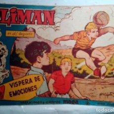 Giornalini: OLIMÁN-AS DEL DEPORTE- Nº 84 -VÍSPERA DE EMOCIONES-1962-GRAN RICARDO ACEDO-BUENO-DIFÍCIL-1193. Lote 165525990