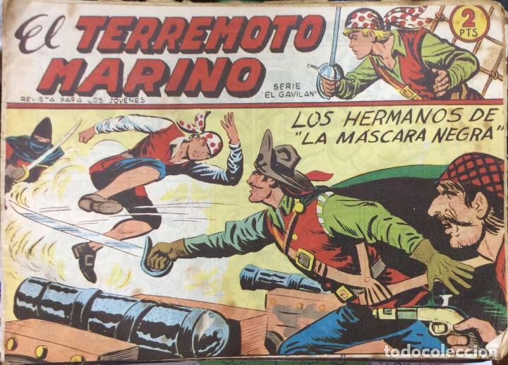 EL TERREMOTO MARINO SERIE EL GAVILAN 22 COMICS (Tebeos y Comics - Maga - Otros)