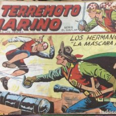 Tebeos: EL TERREMOTO MARINO SERIE EL GAVILAN 22 COMICS. Lote 165592954