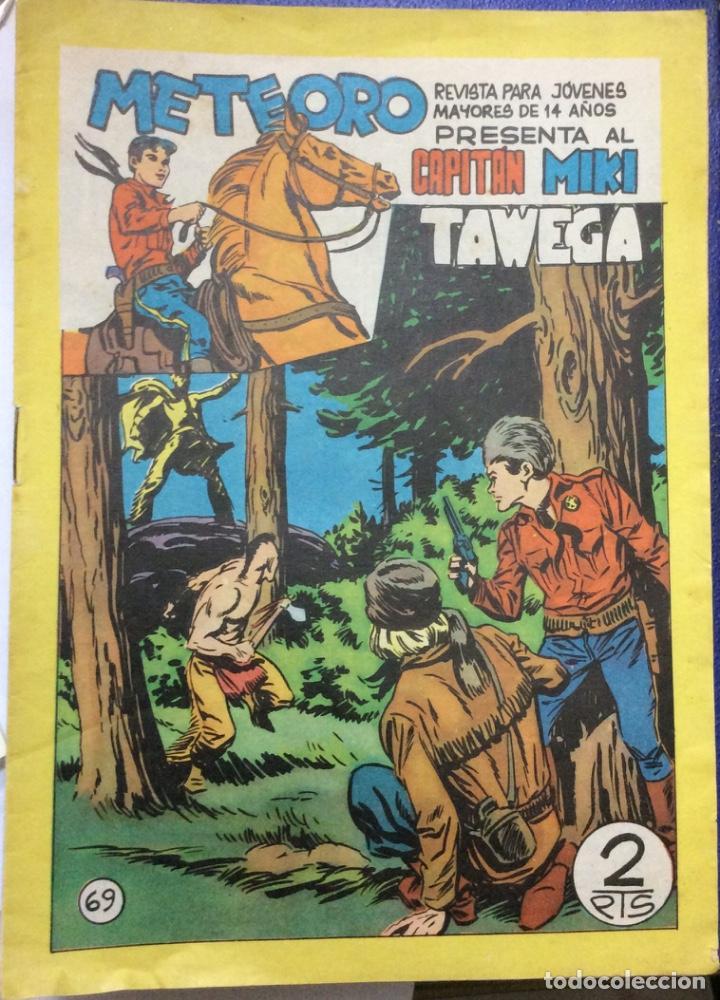 Tebeos: METEORO PRESENTA AL CAPITÁN MIKI 38 comics - Foto 2 - 165598710