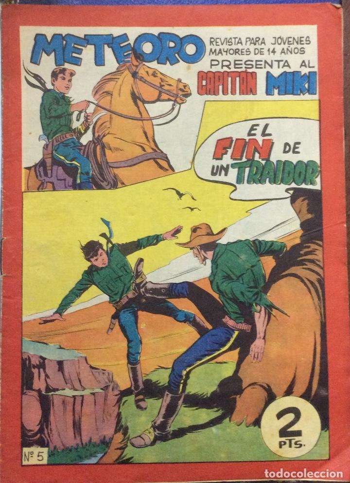METEORO PRESENTA AL CAPITÁN MIKI 38 COMICS (Tebeos y Comics - Maga - Otros)
