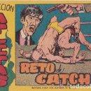 Tebeos: RETO DE CATCH,-- COLECCION ATLETAS. Lote 165771978