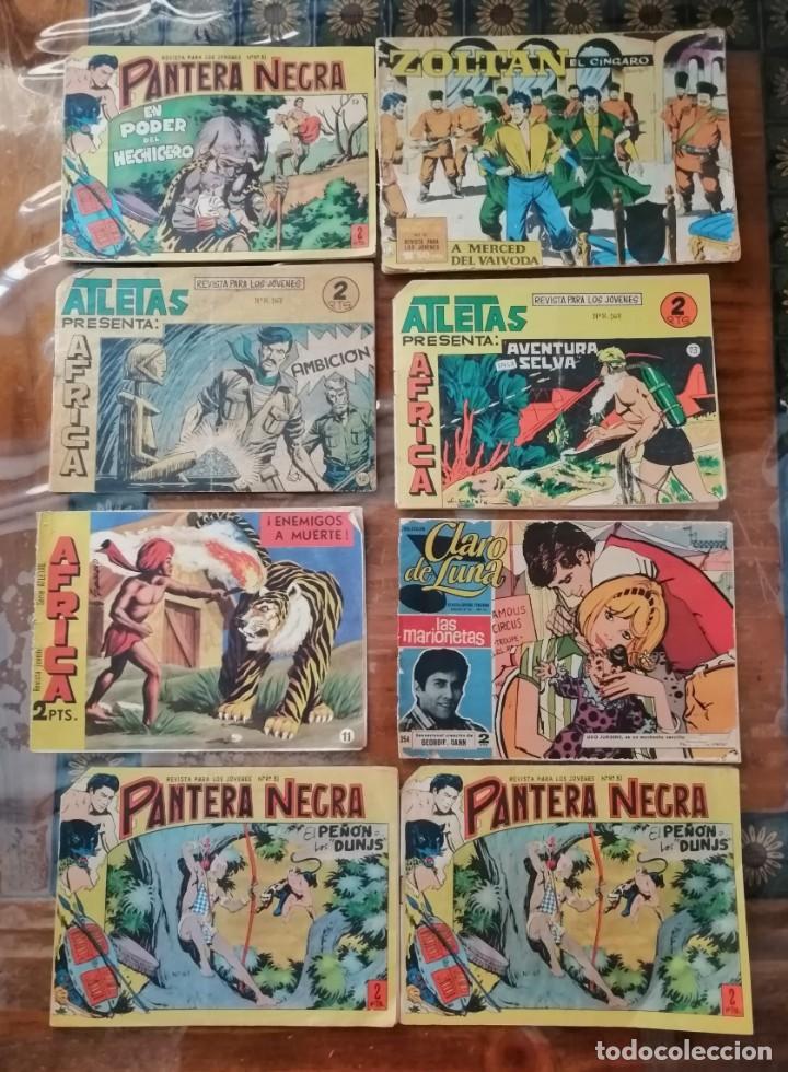 VARIOS CÓMICS ANTIGUOS ORIGINALES. (Tebeos y Comics - Maga - Otros)