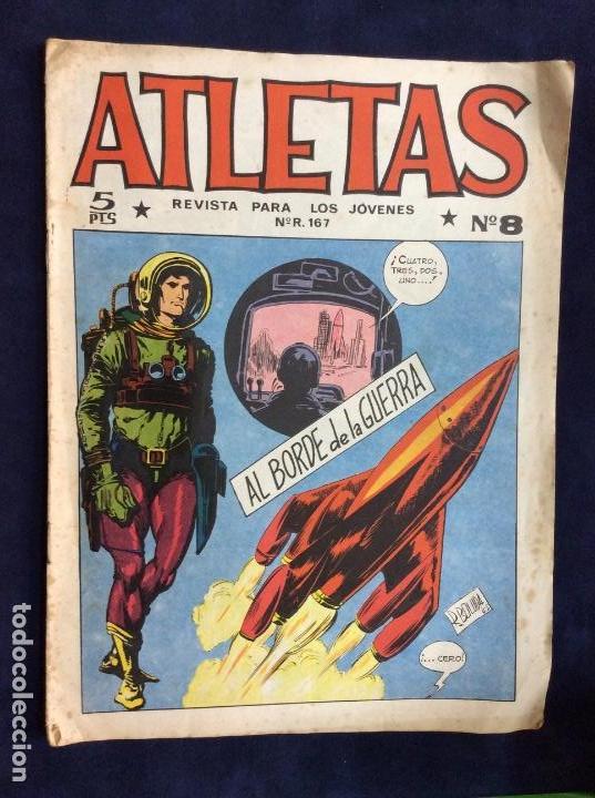 ATLETAS REVISTA PARA LOS JÓVENES N°8 MAGA (Tebeos y Comics - Maga - Otros)