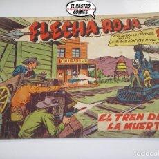 BDs: FLECHA ROJA Nº 31, ED. MAGA, ORIGINAL. Lote 166581154
