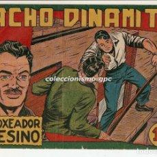 Tebeos: PACHO DINAMITA Nº 15 TEBEO ORIGINAL 1952 EL BOXEADOR ASESINO EDITORIAL MAGA BUEN ESTADO OFERTA MIRA. Lote 166992052