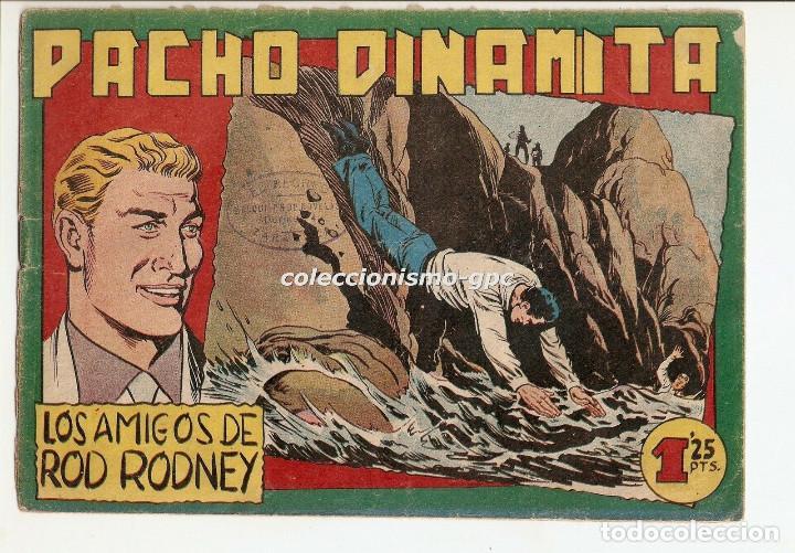PACHO DINAMITA Nº 125 TEBEO ORIGINAL 1956 LOS AMIGOS DE ROD RODNEY EDITORIAL MAGA BUEN ESTADO OFERTA (Tebeos y Comics - Maga - Pacho Dinamita)