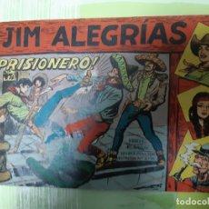 Tebeos: TEBEOS-COMICS CANDY - JIM ALEGRIAS - Nº 10 - MAGA 1960 - ORIGINAL *AA98. Lote 167312252