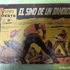Tebeos: TEBEOS-COMICS CANDY - ESPIRITU DEL OESTE - Nº 22 - MAGA 1960 - ORIGINAL *AA98. Lote 167313208
