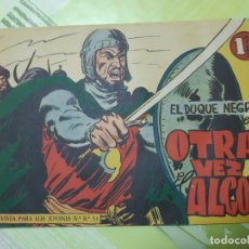Tebeos: TEBEOS-COMICS CANDY - EL DUQUE NEGRO - Nº 9 - MAGA 1958 - ORIGINAL *UU98. Lote 167424724