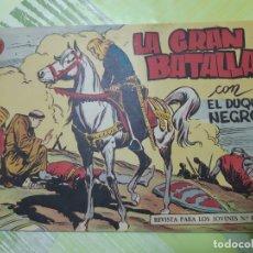 Giornalini: TEBEOS-COMICS CANDY - EL DUQUE NEGRO - Nº 10 - MAGA 1958 - ORIGINAL *UU99. Lote 167425176