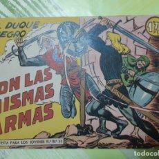 Giornalini: TEBEOS-COMICS CANDY - EL DUQUE NEGRO - Nº 13 - MAGA 1958 - ORIGINAL *AA98. Lote 167427280