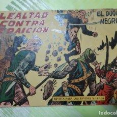 Tebeos: TEBEOS-COMICS CANDY - EL DUQUE NEGRO - Nº 16 - MAGA 1958 - ORIGINAL *AA98. Lote 167429684