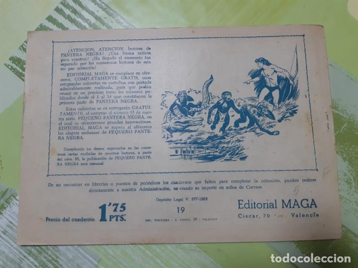 Tebeos: TEBEOS-COMICS CANDY - EL DUQUE NEGRO 19 - MAGA 1958 - ORIGINAL *AA98 - Foto 2 - 167433232
