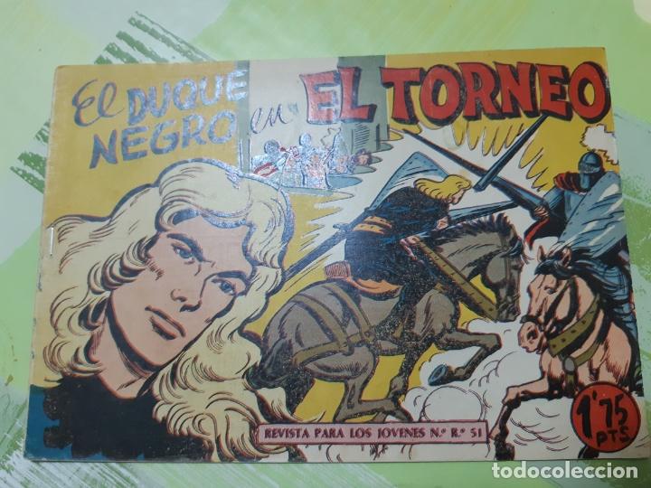 TEBEOS-COMICS CANDY - EL DUQUE NEGRO 19 - MAGA 1958 - ORIGINAL *AA98 (Tebeos y Comics - Maga - Otros)