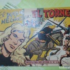 Tebeos: TEBEOS-COMICS CANDY - EL DUQUE NEGRO - Nº 19 - MAGA 1958 - ORIGINAL *AA98. Lote 167433232